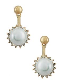 A Pearl Flower Earring