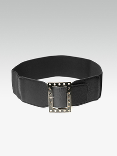 Not Without Me Rivet Buckle Belt
