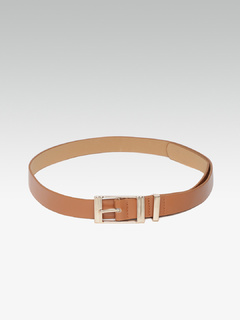 Going With The Classic Square Buckle Belt