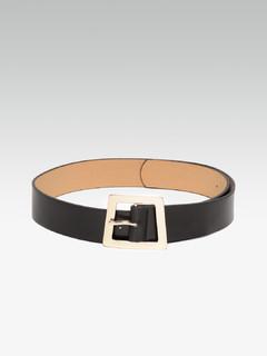 Accessories-Distorted Dreams Square Black Belt