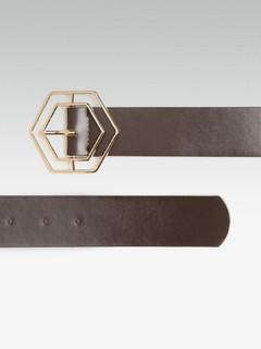 Accessories-The Hex Is On You Dark Brown Belt