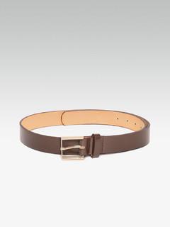 90 Degrees Square Dark Brown Belt