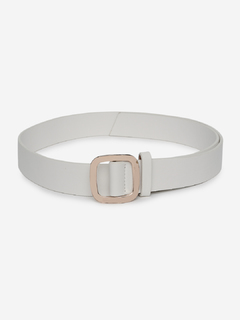 White Rising Upside Down Belt
