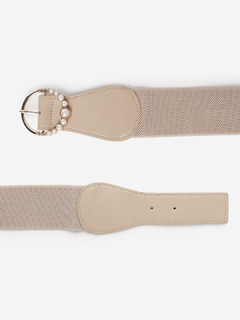Accessories-Pearls By My Side Waist Belt
