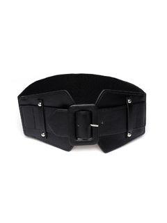 Accessories-Slip Into Style Black Belt