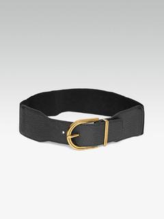 Accessories-The Dual Arch Black Belt
