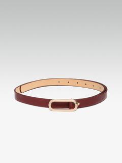 Accessories-Nothing Between You Maroon Belt