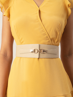 Accessories-Beige Slaying In Style Belt
