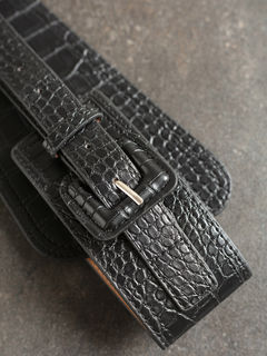 Accessories-Black I Am The Catch High Waist Belt