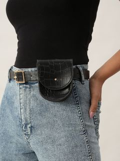 Accessories-Black Hustle Free Bag Belt