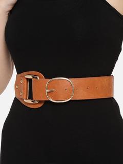 Accessories-Tan Sliding Off The Season Belt
