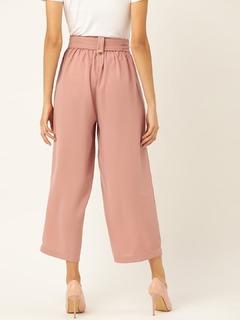 Apparel-Got My Fun Pants On Pink Culotte