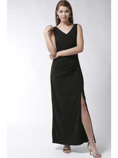 Black Dance To This Maxi Dress
