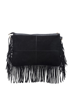 Black On The Fringes Side Sling