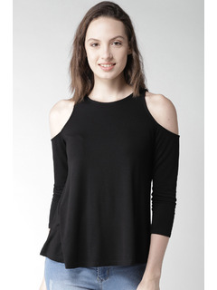 Black Too Cool For The Summer Top