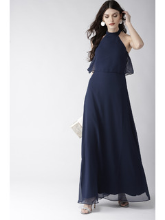 Blue On A High Maxi Dress