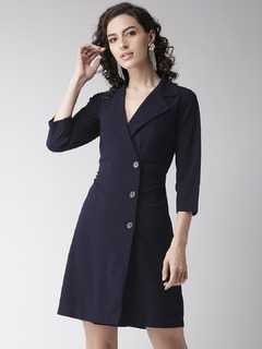 Boardroom Chic Blazer Dress