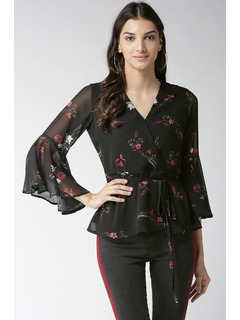 Bring On The Charm Peplum Top