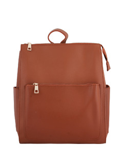 Brown Casual Affair Backpack