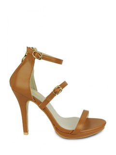 Brown The Classic Three Heels