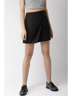 Apparel-Buckle It In Skirt
