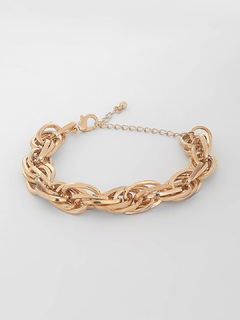 Looped To Infinity Chain Bracelet