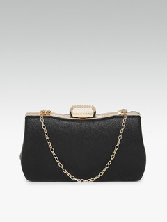 Wild Beauty Black Clutch