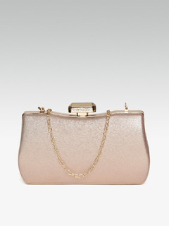 Wild Beauty Rose Gold Clutch