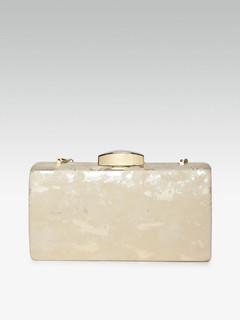 Bags-Infinite Glory Gold Clutch