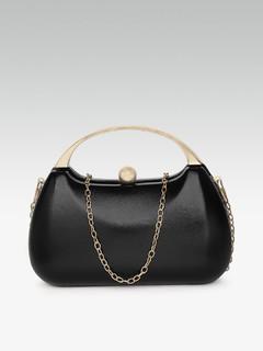 Bags-Dance All Evening Black Clutch