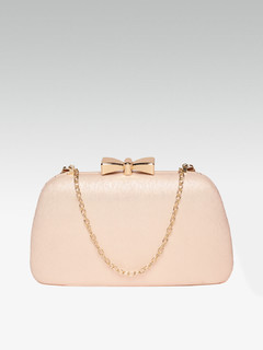 Magical Meadow Rose Gold Clutch