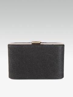 Bags-Black Is Beautiful Box Clutch