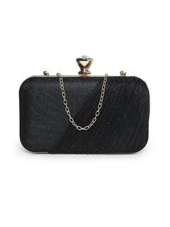 Bags-Black I Got The Bling Clutch
