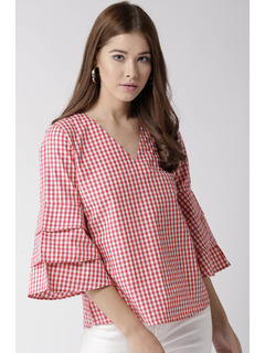 Call Me Maybe Gingham Top