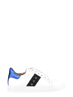 Chic Sneak Studded White Sneakers
