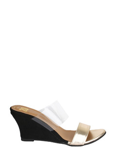 Clear Colorblock Wedges