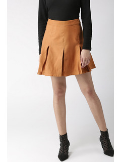 Come Pleat Me Skirt