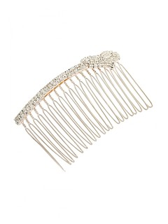 Cupids Diamond Heart Haircomb