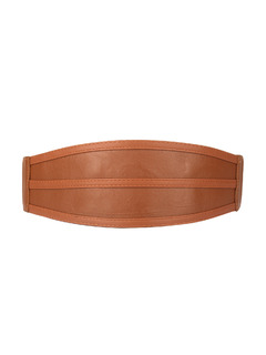 Curved In Style Broad Belt