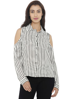 Cut Out The Stripes Top