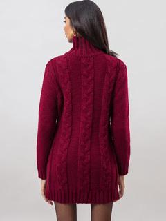 Apparel-Hues Of The Fall Sweater Dress