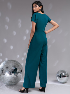 Apparel-Metallic Beauty Jumpsuit