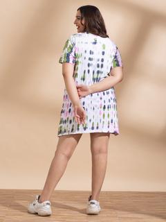 Apparel-Make A Splash Tshirt Dress