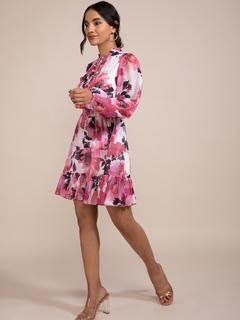 Apparel-Catch A Floral Vibe Dress