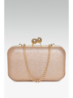 Dont Dull Your Sparkle Gold Clutch
