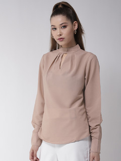 Dress The Part Formal Beige Top