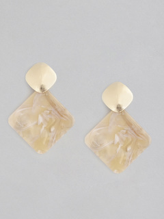 Drops Of Square Earrings