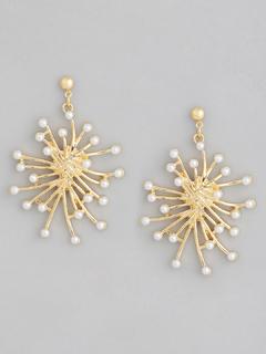 The Pearl Cluster Earrings