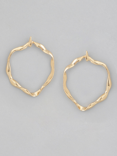 Curved Around The Edges Earrings