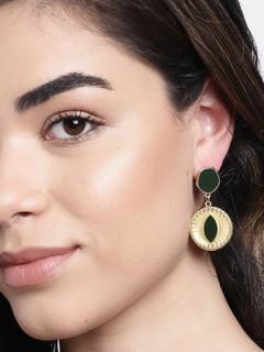 Accessories-Black Blaze Earrings